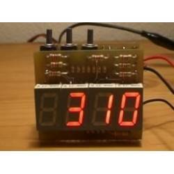 Reloj digital con display