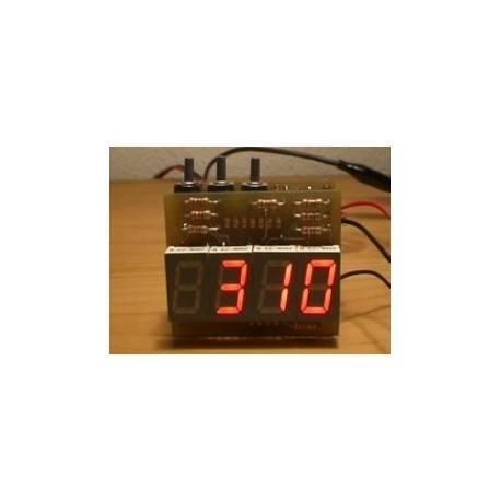 Digital clock with display