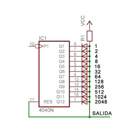 CD4040 circuito integrado