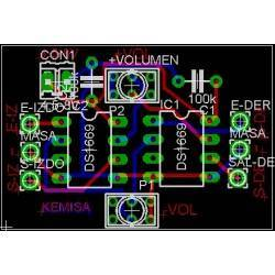 Digital volume control circuit board