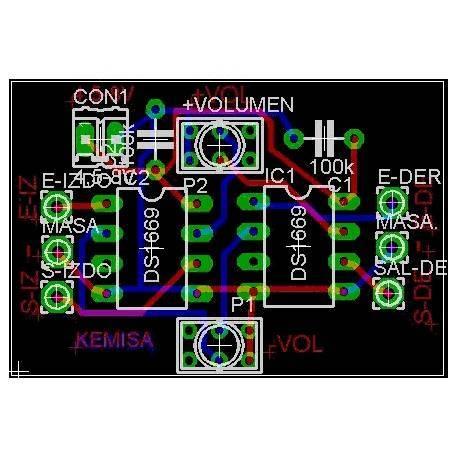Digital volume control circuit board