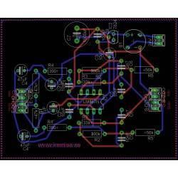 Diagrama pré-amplificador estéreo R.I.A.A.