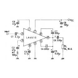 240mW amplifier