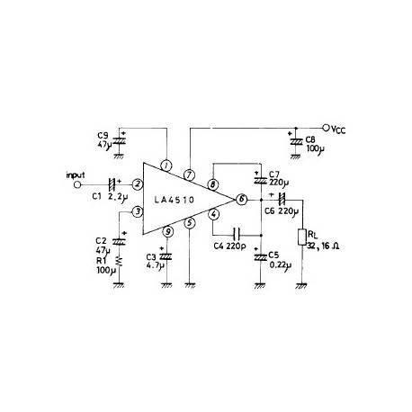 240mW amplifier