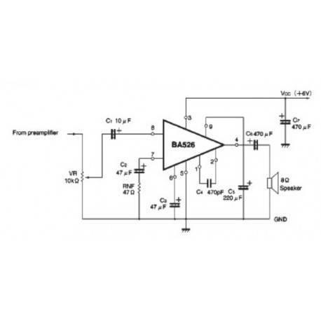 Amplificador 430mW