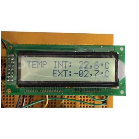 Termômetro interior e exterior