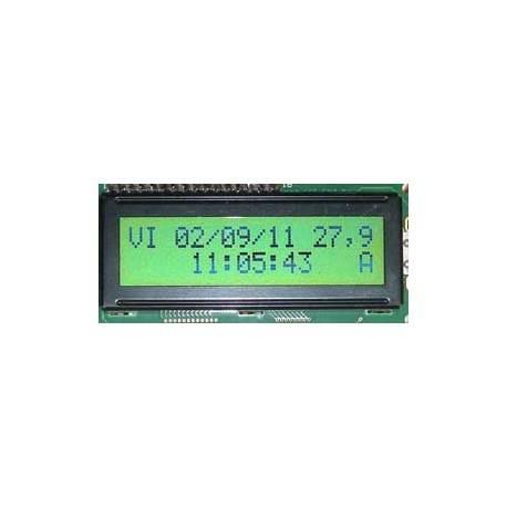 Despertador calendário e termômetro
