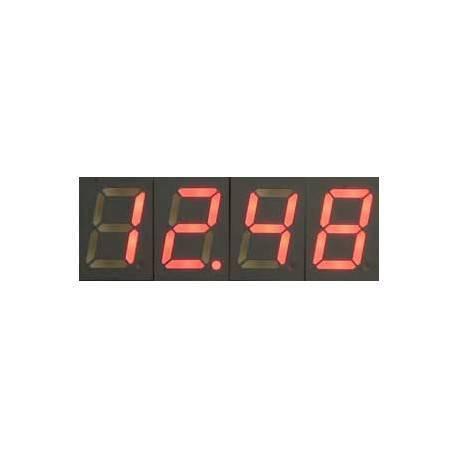 Contator regressivo com visualização em display de 7 segmentos