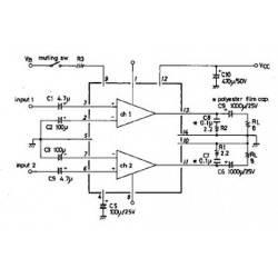 2x10W amplifier
