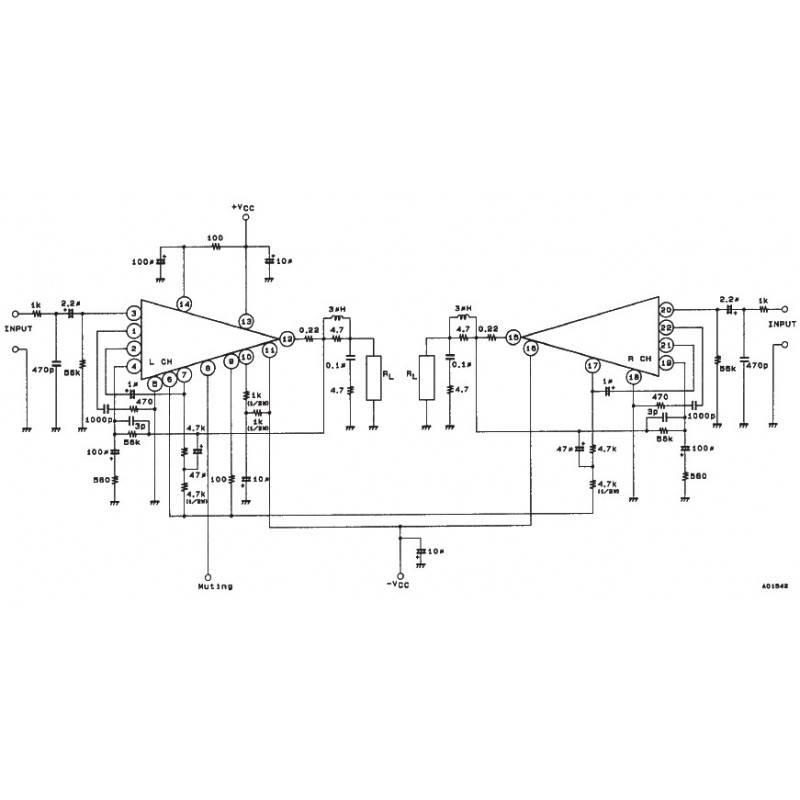 2x70w amplifier