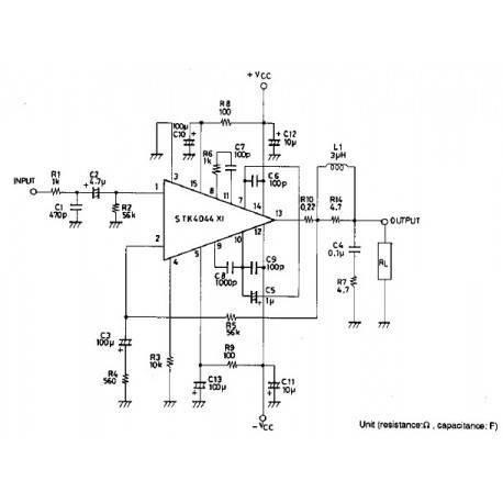 100W amplifier
