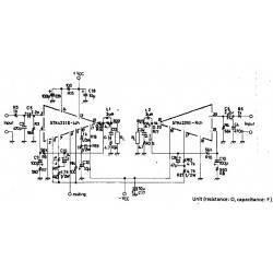2X100W amplifier