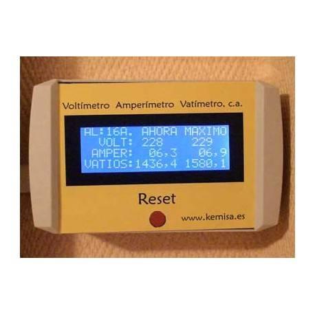 Pinza amperimétrica