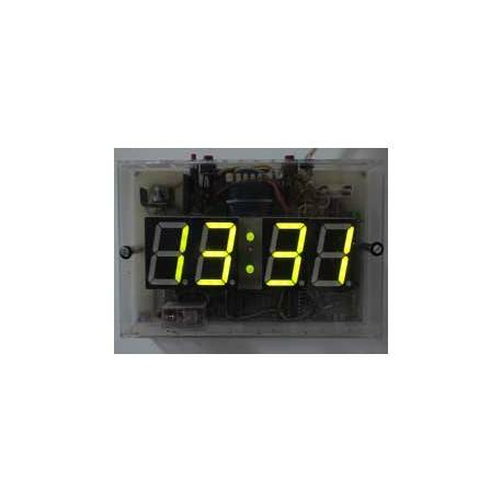 Digital clock with display