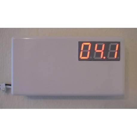 Digital thermometer circuit