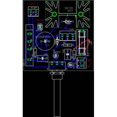 Fonte de energia configurável