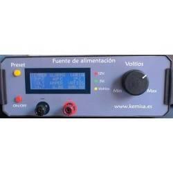 Fuente de alimentación variable 10 amperios