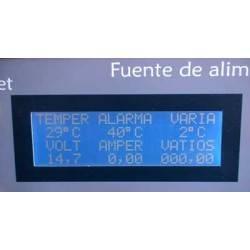 Voltímetro amperímetro y vatímetro con pic