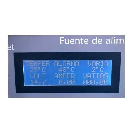 Voltímetro amperímetro e wattímetro com pic