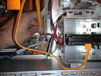 Conector sata al disco duro