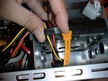 Conexión cable disco duro