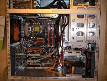 Montaje parcial del ordenador
