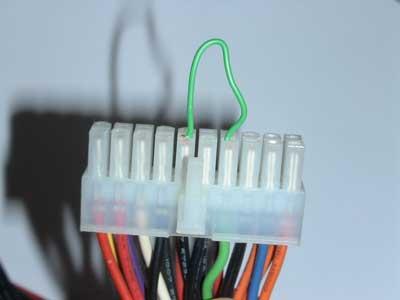 Cable de conexión encendido fuente de alimentación ATX