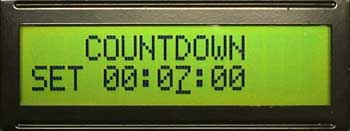 Countdown set