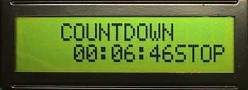 Countdown stop