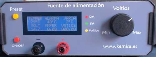 Fuente de alimetación variable 10 amperios