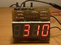 Reloj digital con pic