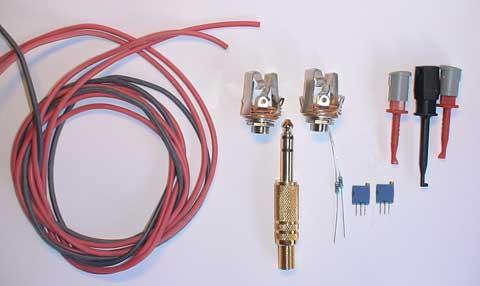 Componenetes utilizados en el pc como osciloscopio