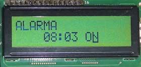 Configuración de la alarma