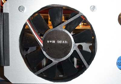 Ventilador fuente de alimentación 10 amperios