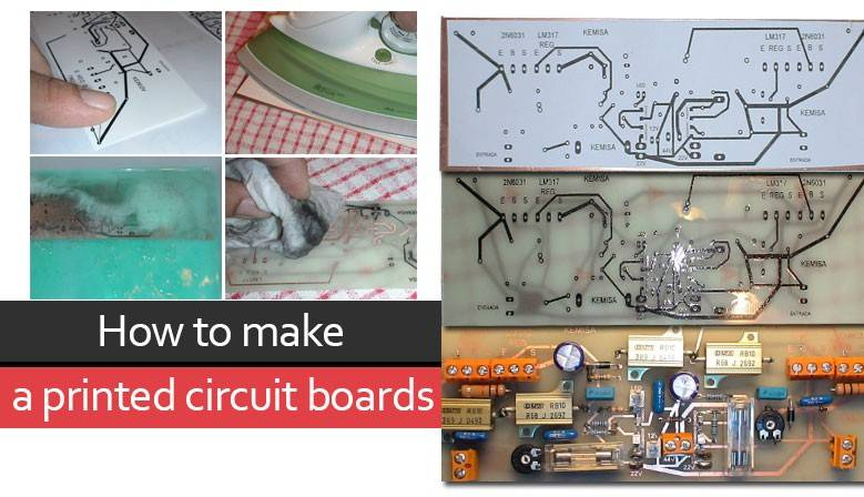 How to make a printed circuit boards