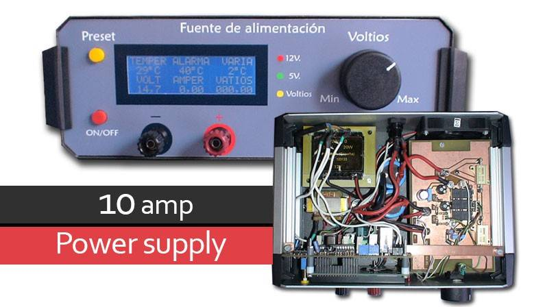 10 amp power suply
