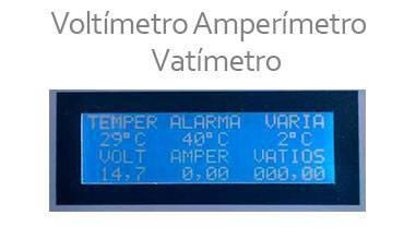 Voltímetro amperímetro vatímetro