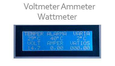 Voltmeter ammeter and wattmeter